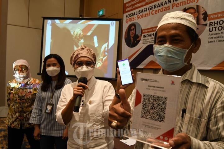 BI Jatim Gencarkan Gerakan Nasional Non Tunai Melalui QRIS