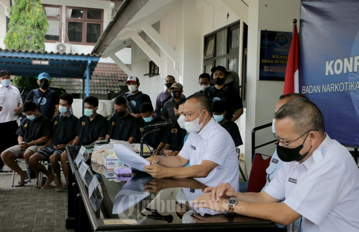 BNN Provinsi Jateng Gelar Pengungkapan Kasus Narkotika