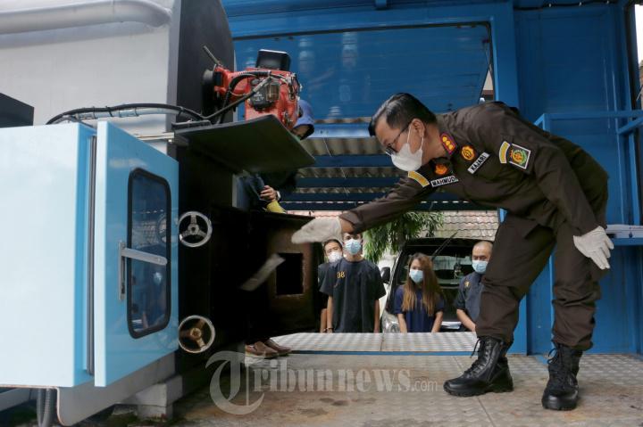 BNN Provinsi Jateng Musnahkan Narkotika Sabu dan Ganja