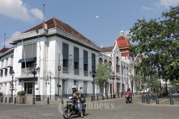 Cegah Penularan Covid-19, Penutupan Jalan di Semarang