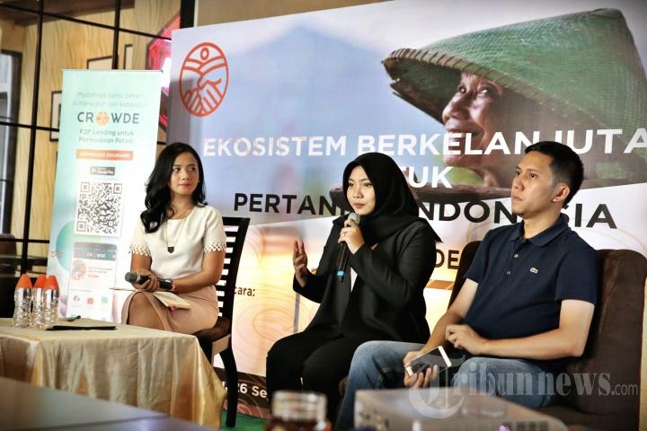 Crowde: Aplikasi Menciptakan Ekosistem Pertanian Berkelanjutan