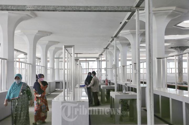 Daftar Ulang Para Pedagang Pasar Johar Semarang