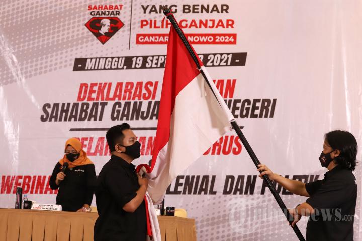 Deklarasi Relawan Sahabat Ganjar Luar Negeri