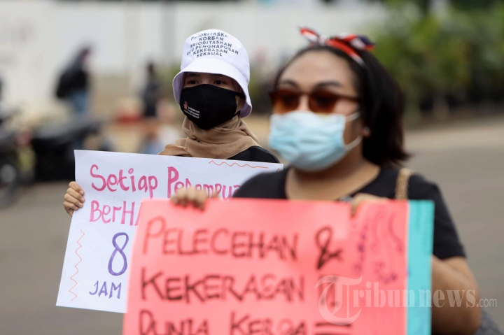 Demo Peringatan Hari Perempuan Internasional