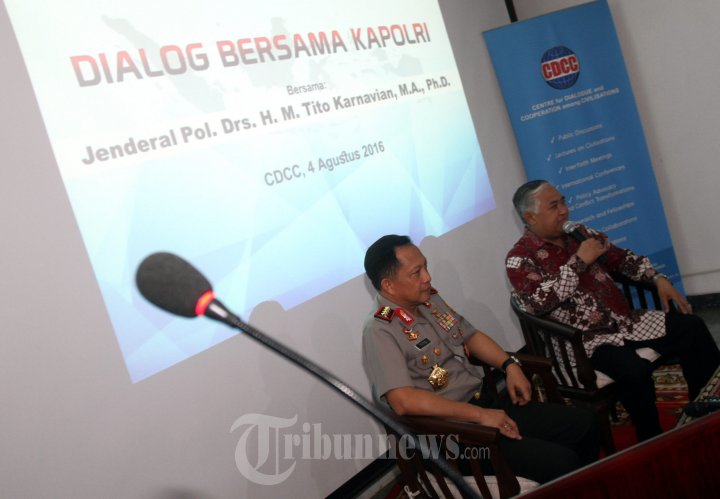 Din Syamsuddin Berdialog Dengan Kapolri