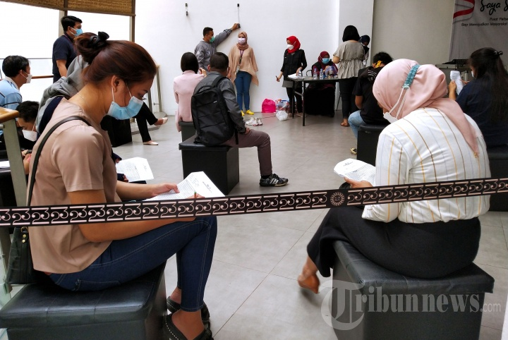 Dinkes Kota Bandung Gelar Vaksinasi Covid-19 di Mal