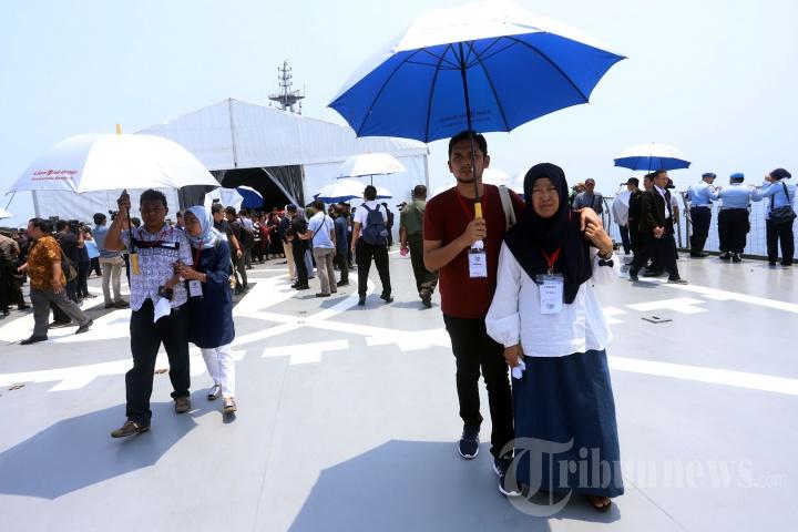 Doa dan Tabur Bunga Bersama Kecelakaan Lion Air PK-LQP