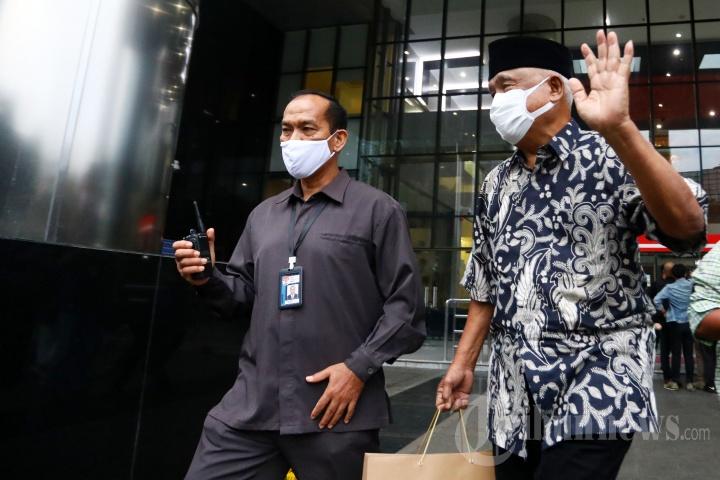 Dua Mantan Pimpinan KPK Kunjungi Gedung KPK