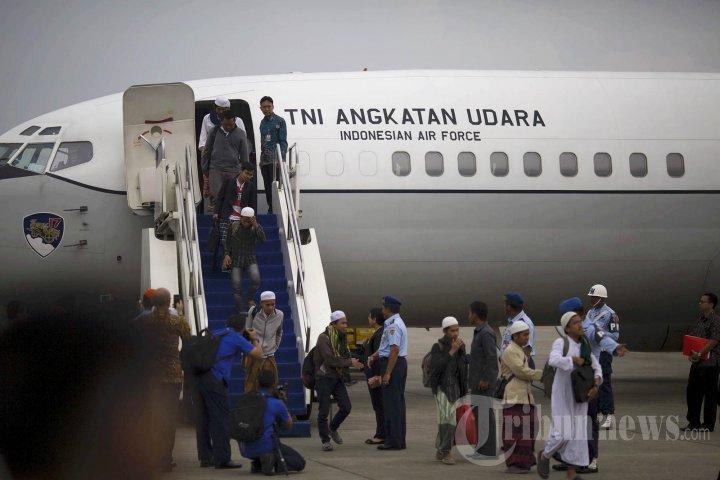 Evakuasi WNI dari Yaman Tiba di Halim Perdanakusuma