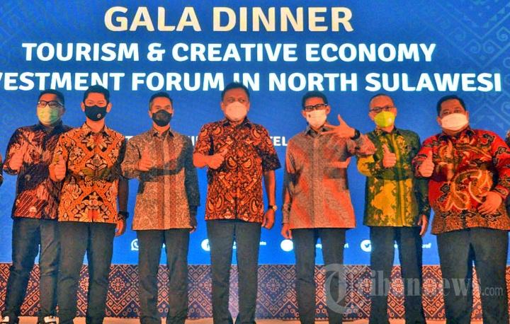 Forum Investasi Pariwisata dan Ekonomi Kreatif di Manado
