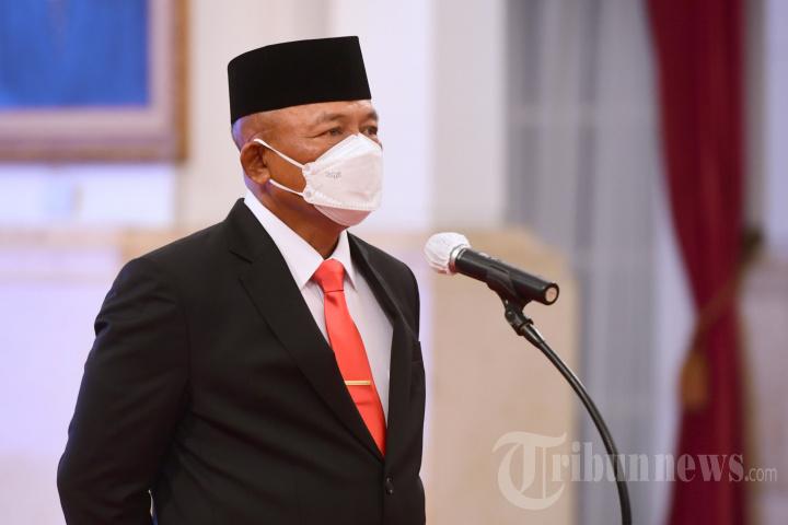 Ganip Warsito Dilantik Jadi Kepala BNPB Gantikan Doni Monardo