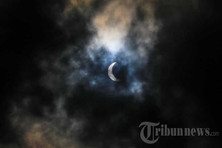 Gerhana Matahari Parsial Terlihat di Pangkalpinang
