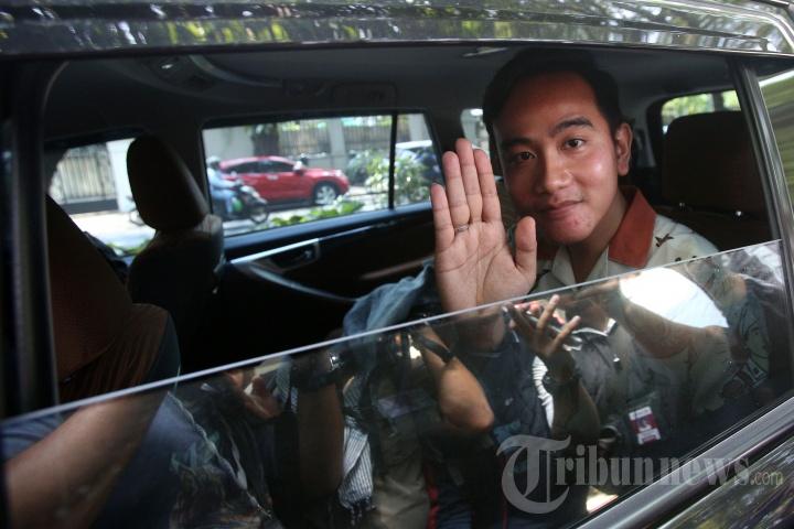 Putra Presiden Joko Widodo, Wali Kota Surakarta, Gibran Rakabuming Raka.