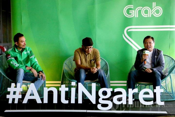 Grab Indonesia kampanyekan #AntiNgaret di Semarang