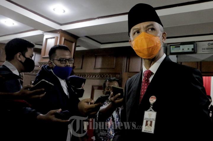 Gubernur Ganjar Usai Melantik 17 Kepala Daerah