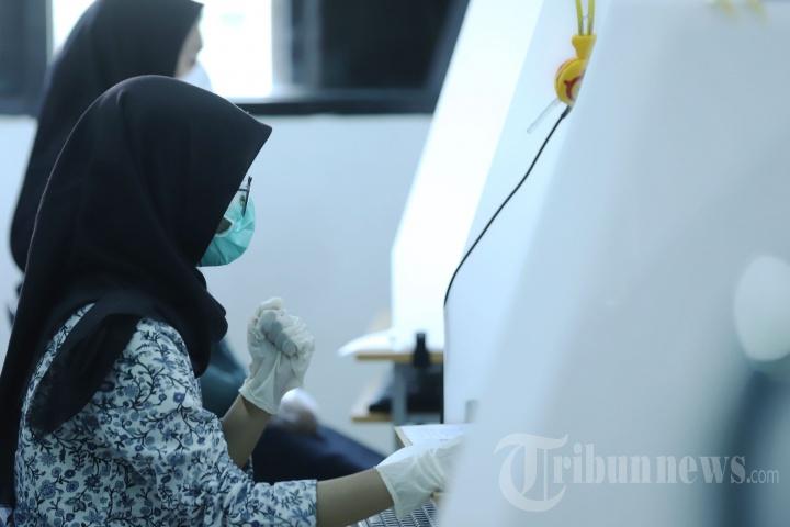 Hari Pertama UTBK-SBMPTN 2021 di Jakarta