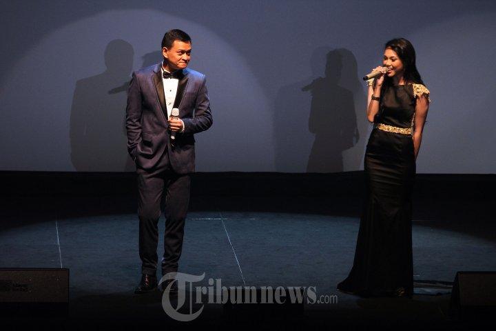 Hedi Yunus dan Angela Nazar di Acara Film Mantan Terindah