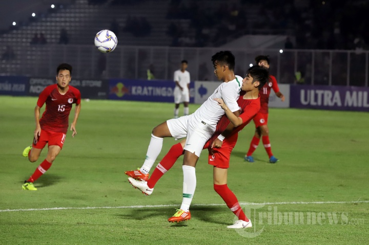 Indonesia Bungkam Hongkong Dengan Skor 4-0