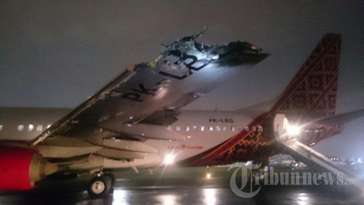 Insiden Tabrakan Batik Air dan TransNusa, Foto 2 #1646523 - Tribunnews ...