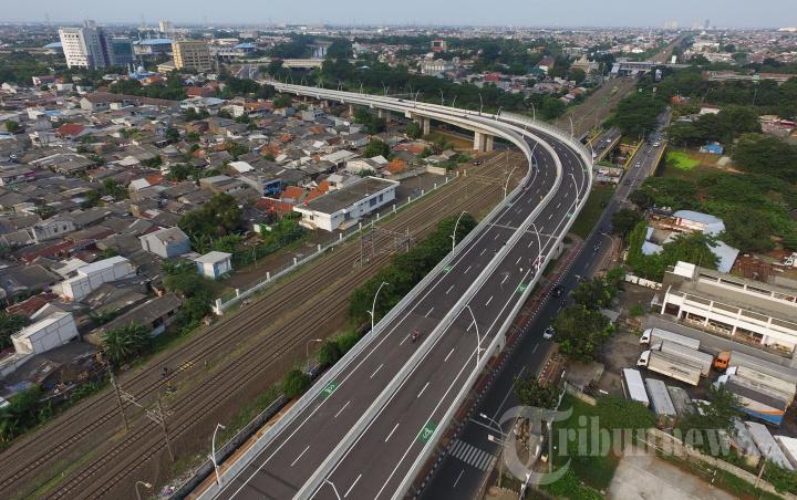 Jalan Layang Cakung Siap Dilintasi Pengendara