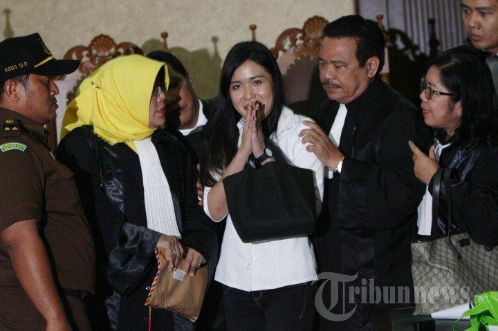 Jessica Kumala Wongso Divonis 20 Tahun Penjara