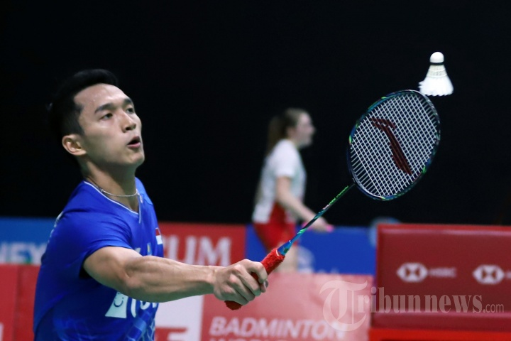 Jonatan Christie Melaju ke Perempat Final Indonesia Masters 2020