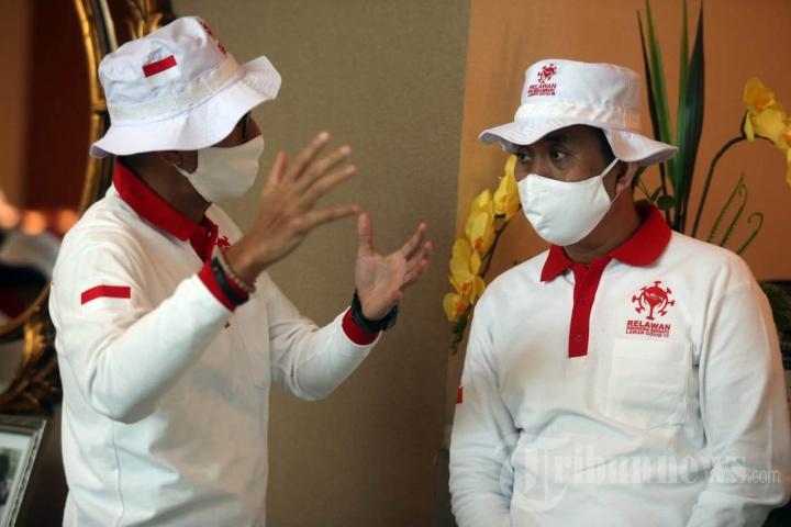 Kamrussamad Jadi Relawan Indonesia Bersatu Lawan Covid-19