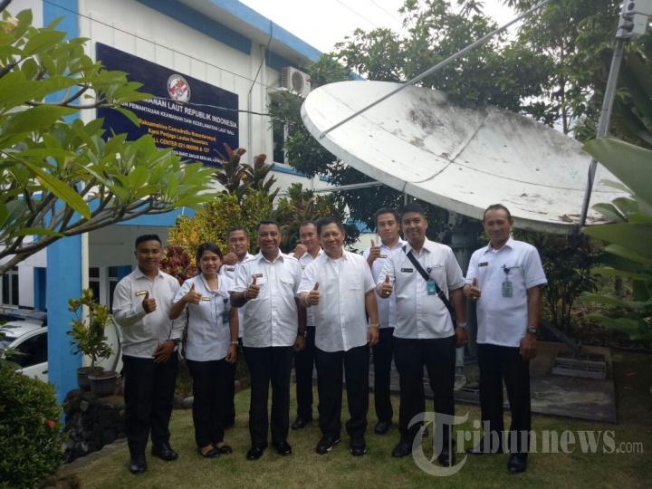 Kazona Maritim Tengah Bakamla RI Bina Personel SPKKL Bali