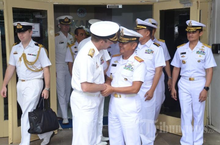 Kepala Bakamla Terima Kunjungan Kehormatan Kasal Australia