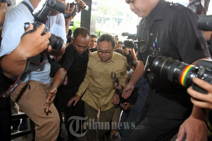 Ketua MPR Zulkifli Hasan Diperiksa KPK