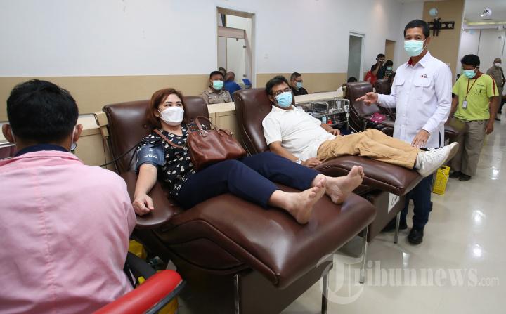 Ketua PMI DKI Jakarta Sapa Pedonor Darah