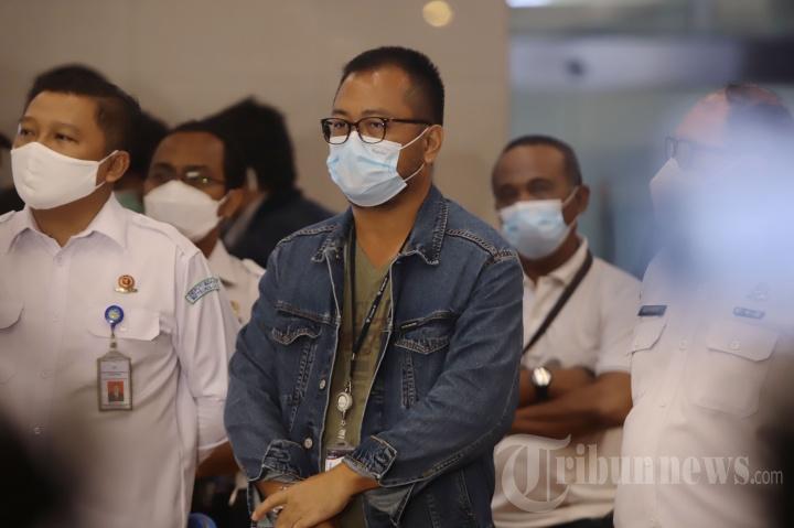 Konferensi Pers Jatuhnya Pesawat Sriwijaya Air SJ 182