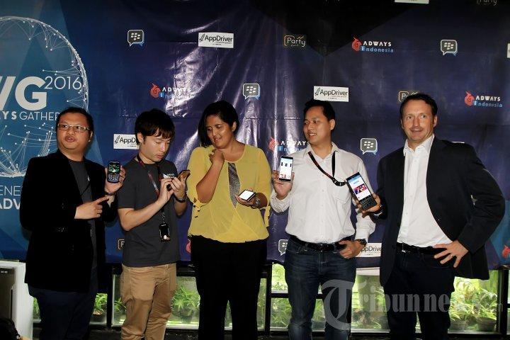 Konferensi Pers Kerjasama Blackberry dengan Adways Indonesia
