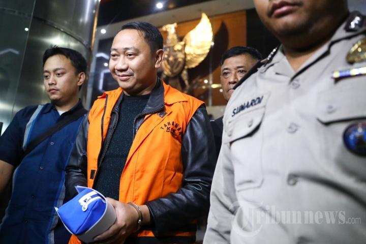 KPK Tahan Bupati Lampung Utara Agung Ilmu Mangkunegara
