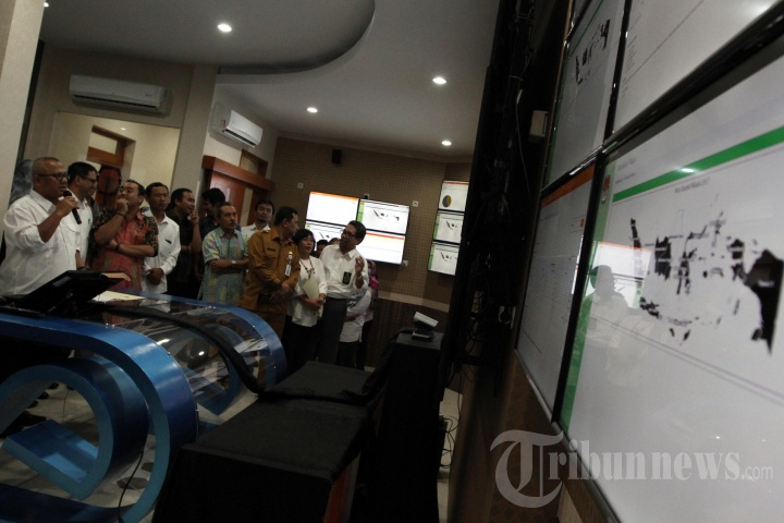 KPU Luncurkan Sistem Informasi Data Pemilih