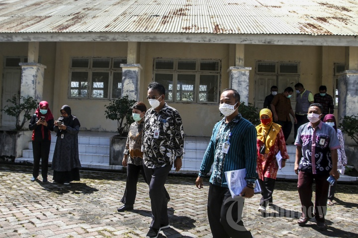 Kunjungan Dirjen Kementerian Sosial RI ke Aceh