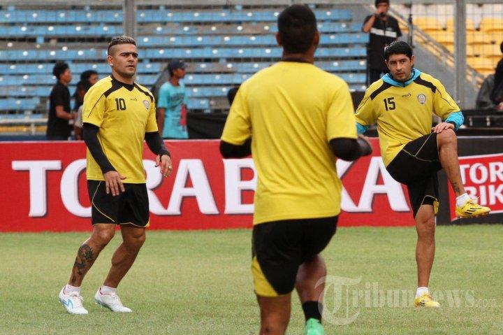 Latihan Arema Jelang Final Piala Bhayangkara