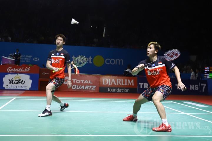 Marcus/Kevin Lolos ke Perempat Final Indonesia Open 2019