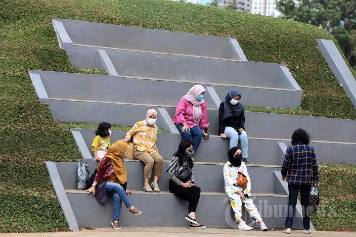 Menikmati Liburan Pilkada di Senayan Park