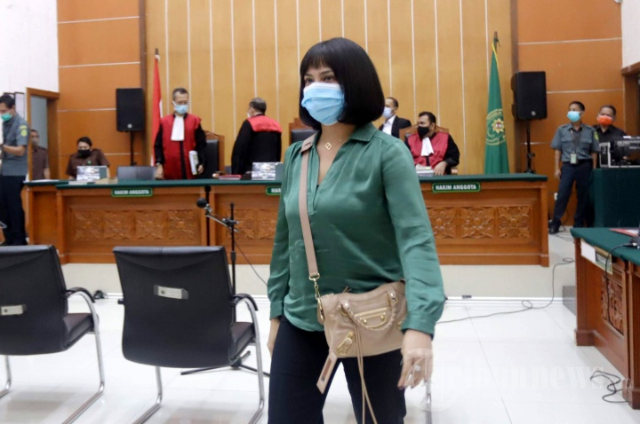 Miliki Psikotropika Jenis Xanax, Vanessa Angel Dituntut 6 Bulan Penjara