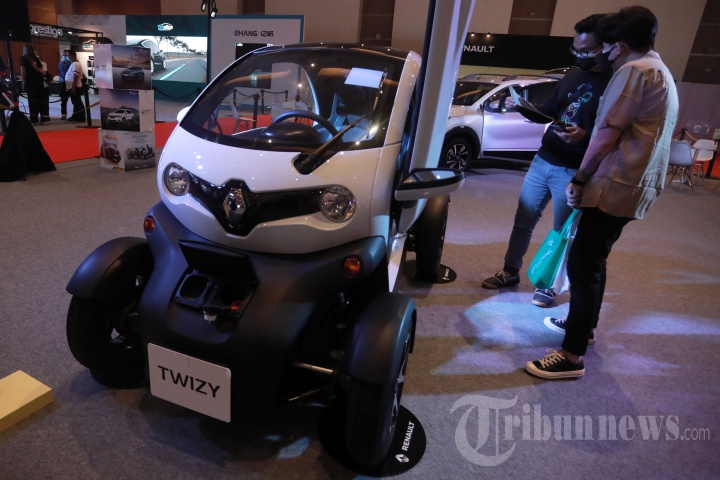 Mobil Listrik Dipamerkan di IIMS Hybrid 2021