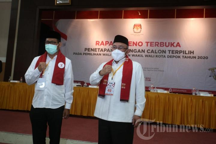 Mohammad Idris-Imam Budi Hartono Resmi Pimpin Kota Depok