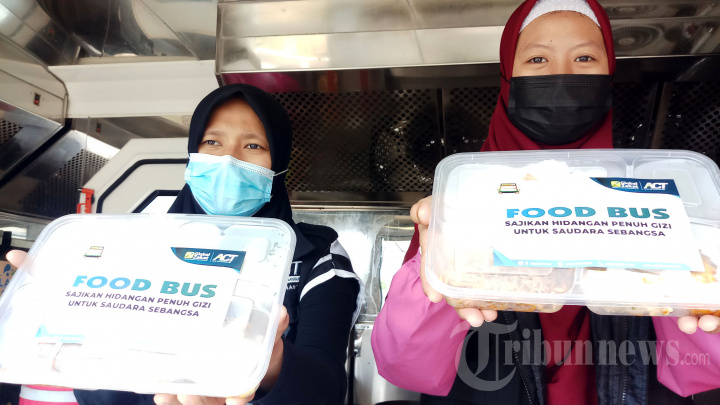Operasi Makan Gratis bagi Warga Terdampak Covid-19