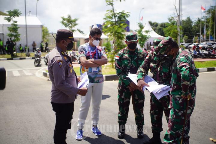 Pangdam XVII/Cenderawasih Cek Kesiapan Pengamanan Stadion Utama Lukas Enembe