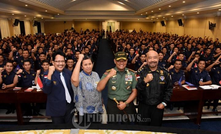 Panglima TNI Berbicara di Hadapan ABN Nasdem