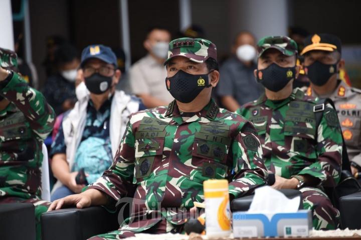 Panglima TNI, Kapolri, Ketua DPR RI, Menteri Tinjau Lokasi Penyekatan Mudik 2021