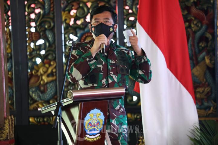Panglima TNI: Penanganan Covid-19 di Kabupaten Bangkalan Harus O