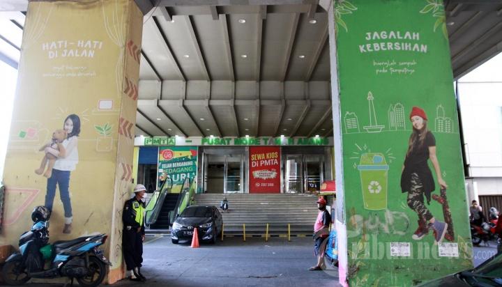 Pasar Tanah Abang Tutup Jelang Hari Raya Iedul Fitri 1442 H