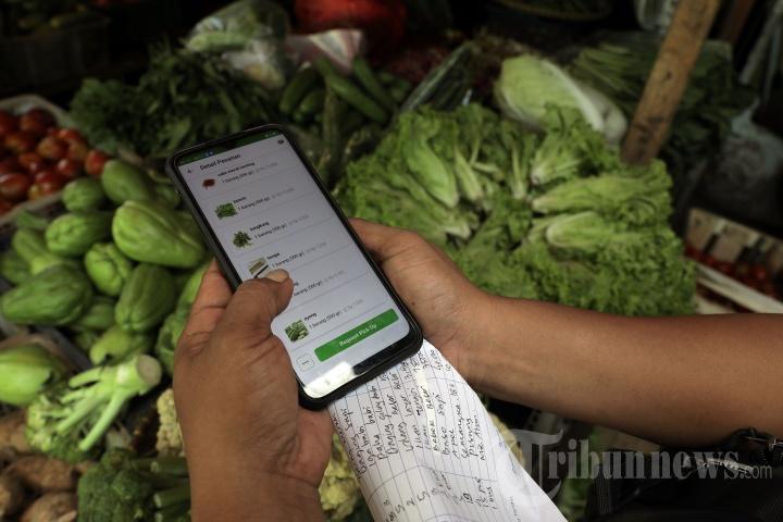 Pasar Tradisional Beralih Online
