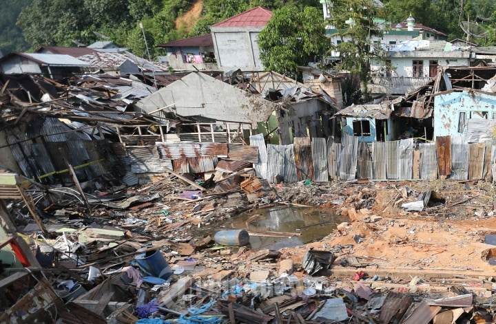 Pasca Ledakan BOM di Sibolga
